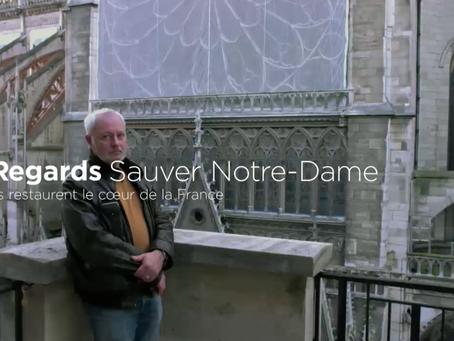 Un an après l'incendie : la reconstruction de la cathédrale Notre-Dame de Paris
