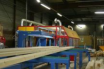 K2 site de production de charpente traditionnelle Jacobs Structures Bois Groupe Jacob