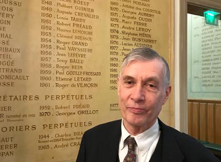 Jean-Marie Ballu nouveau Président de l'AFEF (Association Française des Eaux et Forêts)