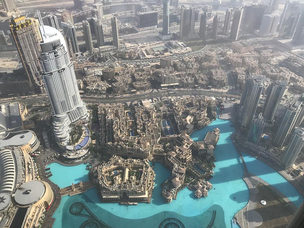 © Photo Pascal Jacob - 01/02/2018 - Burj Khalifa Dubaï - Sommet de la tour 848m