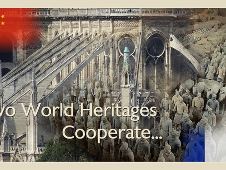 TWO WORLD HERITAGES COOPERATE…