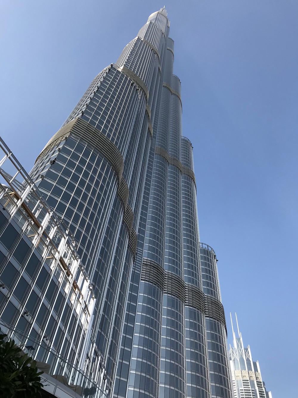 © Photo Pascal Jacob - 01/02/2018 - Burj Khalifa Dubaï - 848m