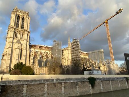 Etats photographiques mensuels de la cathédrale Notre-Dame de Paris (Janvier 2021, mois 21)