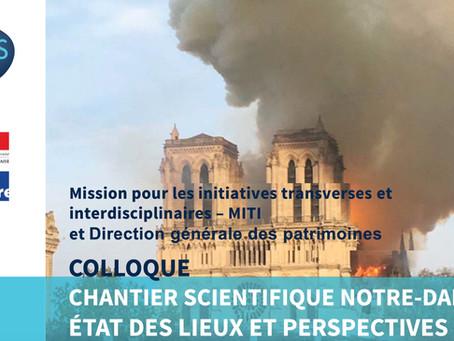 [Replay vidéo] Colloque CNRS : Chantier scientifique Notre-Dame – état des lieux et perspectives