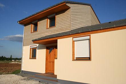 Prototype de maison à ossature bois Pobi Groupe Jacob