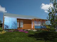 Maison Bioclimatique à 100000 euros Christian Gimonet Pobi