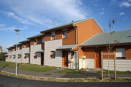 55 Villas Urbaines Durables Bourges (2006) POBI Groupe Jacob