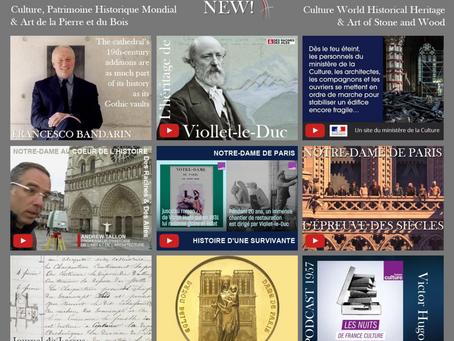 La médiathèque « Culture, Patrimoine historique mondial & Art de la Pierre et du Bois »