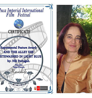 Nili Portugali_Inca Int Film Fest AWARD