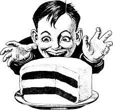EATING THE CAKE TOO.