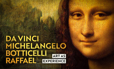 Da Vinci, Michelangelo, Botticelli, Raffael