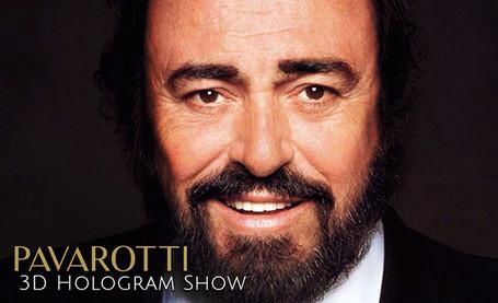 Pavarotti 3D Hologram Show