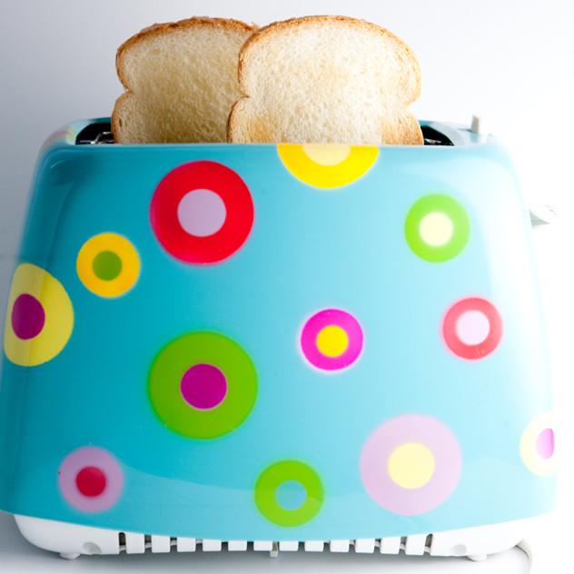 Polka Dot Toaster