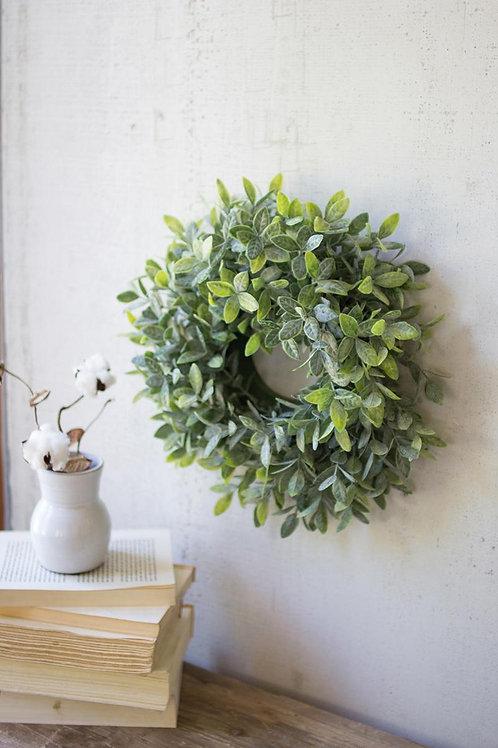"""Artifical Sage Wreath - 15"""""""