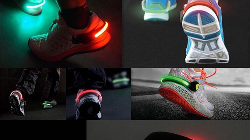Banda luminosa para zapato