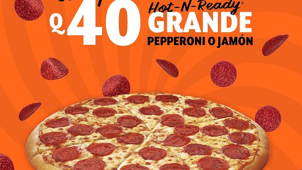 Hot-N-Ready Pepperoni o Jamón