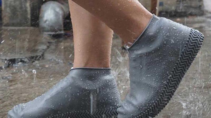 Cobertores de zapatos para lluvia