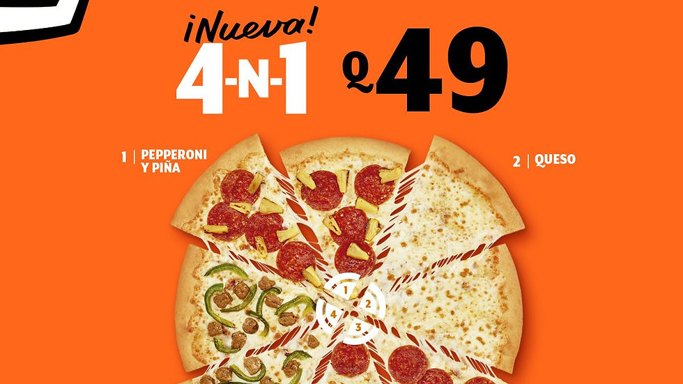 Pizza 4-N-1