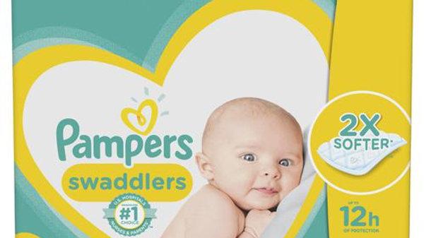 Pampers Swaddlers Pañales Talla 1/164 Unidades