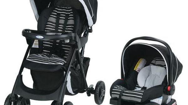 Graco Combo de Asiento de Carro y Coche para Bebé