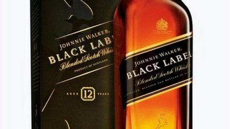 Johnnie Walker Etiqueta Negra Botella