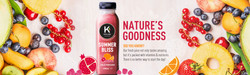 Keeling Juice Logo Design, Packaging Design