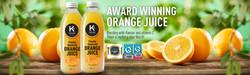 Keeling Juice Banner Artwork Design
