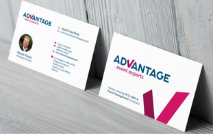 Advantage Logo and Business Card
