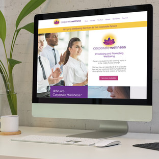 Corporate Wellness website