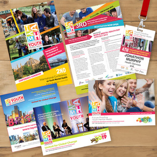 IAYMH printed collateral