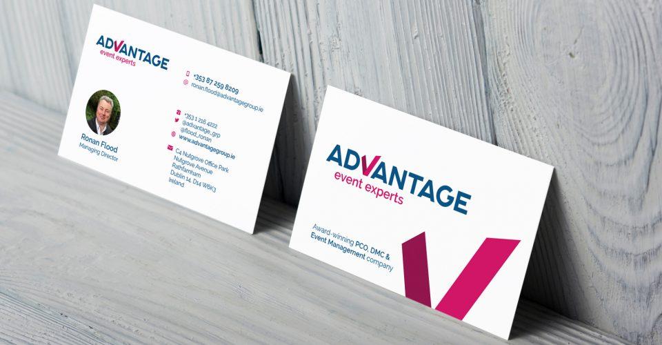 Advantage Event Experts Business Card De