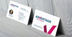 Advantage Experts Business Card Design