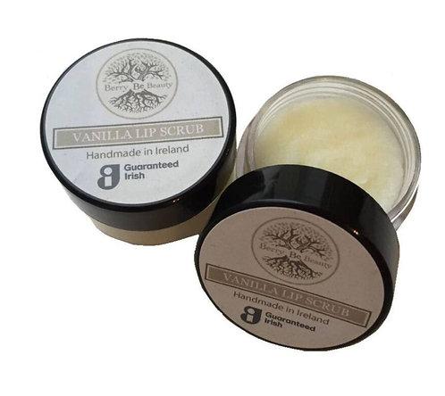 Vanilla Lip Scrub At Home Pampering