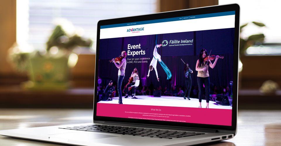 Advantage Website Home Page