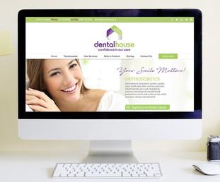 dental house website design