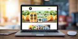 Keeling Juices Website Banner Design