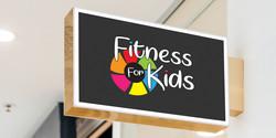 Fitness for Kids Logo Design