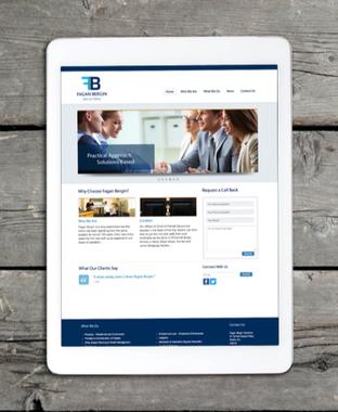 fagan bergin website and logo design