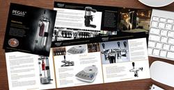 Craftbeer Growler Brochure design