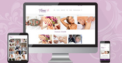 at home pampering website
