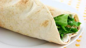 Veg-Cheese wrap