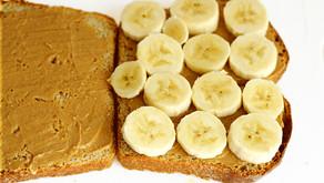 Banana-Peanut Butter Sandwich