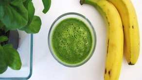 Spinach-Banana Milkshake