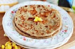 Cheese-Corn Paratha