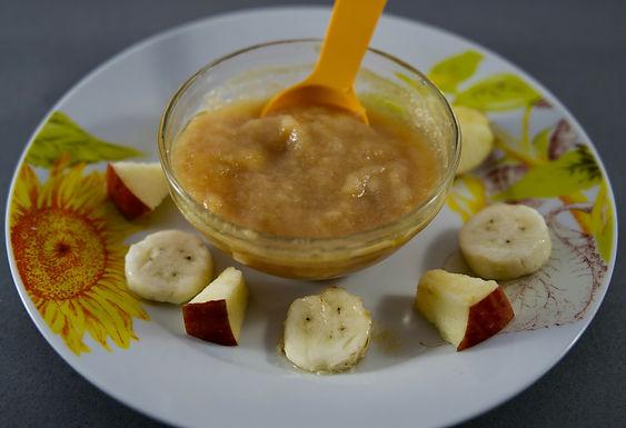 Apple Banana Puree