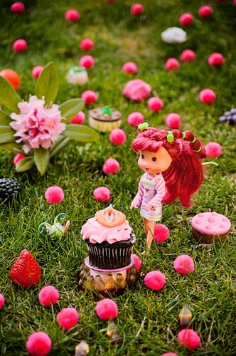 Strawberry Short Muffin