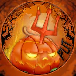 Pumpkin Trident