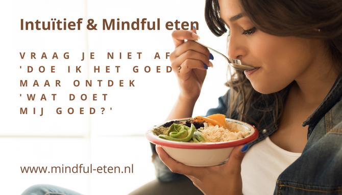 Wil je een gezonde ontspannen relatie met eten? Lees dan onze nieuwe werkboeken