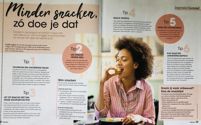 Artikel in tijdschrift Vriendin