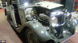 Vintage Alvis Silver Eagle